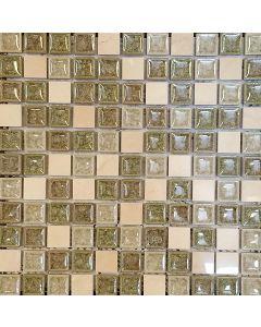 AU3111 MOSAIC GLASS SHEET
