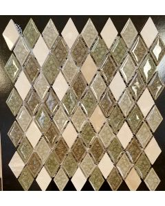 AU3112HAR MOSAIC GLASS SHEET