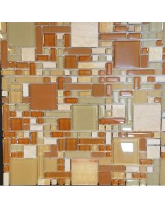 M1275 MOSAIC GLASS SHEET