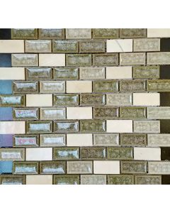 AU3112BJ  MOSAIC GLASS SHEET