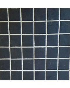 SP1017 BLACK PORCELAIN MOSAIC TILE SHEET