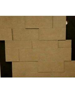 MURERO VULCANO GRIS PORCELAIN MOSAIC TILE SHEET